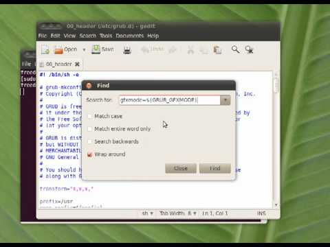 How to fix low boot screen resolution in Ubuntu after installing nVidia driver