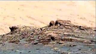 Curiosity Rover Sol 1700, Hut on the Hill  NEW ANOMALIES