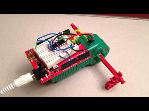 Arduino + K'nex Motor