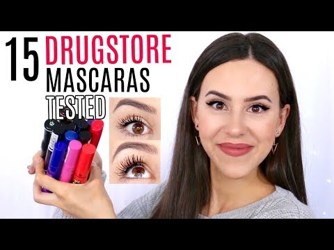 DRUGSTORE MASCARA REVIEWS || BEST & WORST || Essence Mascara 2017 + EYE PICTURES