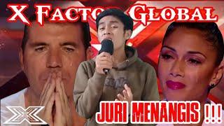 Semua Tak Kuasa Meneteskan Air Mata Karena Peserta Ini Menyanyikan Sholawat | X Factor Global