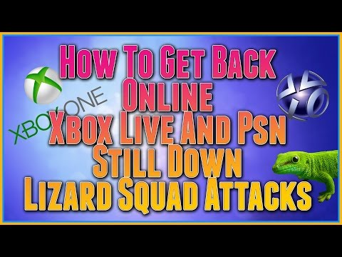 XBOX LIVE AND PSN STILL DOWN, HOW TO FIX PROBLEMS WITH ONLINE, LIZARD SQUAD ATTACKS