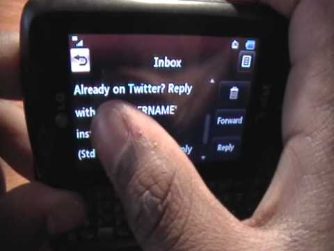How to Send Updates to Twitter (Tweet)  from Any Cell Phone