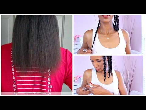 THE INVERSION METHOD pt.1! GROW 1inch of HAIR IN 1 WEEK | ft. DESSY GT