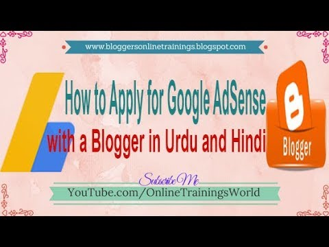 How to Apply for Google AdSense with a blogger | How to link Blogger to Google AdSense 2018
