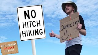 Hitchhiking Solo Across Canada 5800km Ep1 Mp3