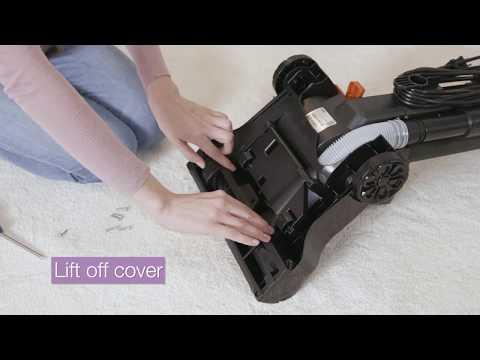 Properly maintain your new Eureka PowerSpeed vacuum