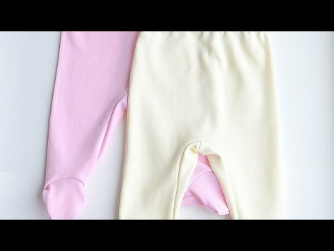 Sew Adorable Footed Baby Pants - DIY Crafts - Guidecentral