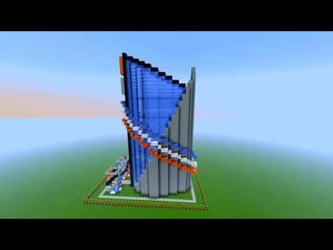 Minecraft: Modern Apartment/Condo! -- Build Series! [averagejoegames]