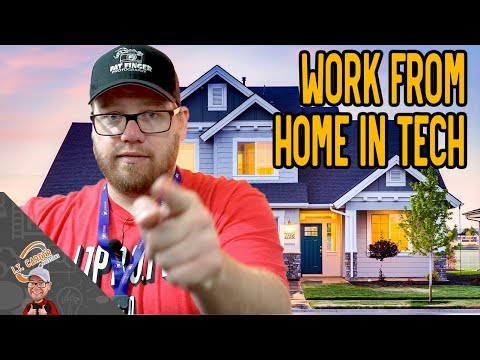 Work From Home I.T. Job as Your First Tech Job?  Is it possible?