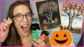 Fall Craft: Q-tip Painting!