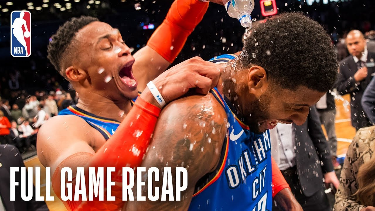 THUNDER vs NETS | Paul George Leads Epic Comeback In Brooklyn | December 5, 2018