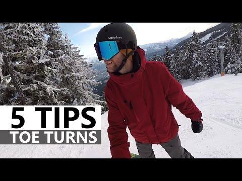 5 Tips for Toe Turns - Beginner Snowboarding