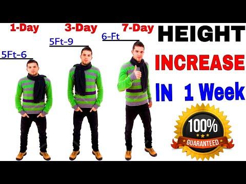 Height Increase IN 1 Week  / Height increase fast