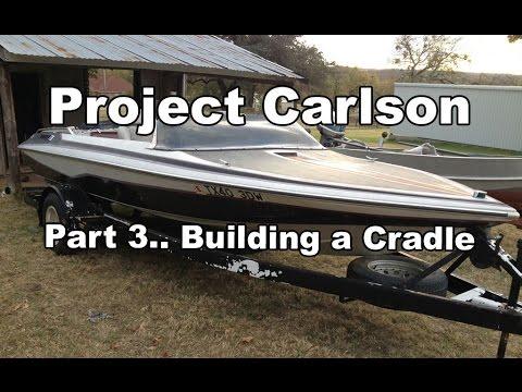 Project Carlson CVX-18 - Building a Cradle Part 2
