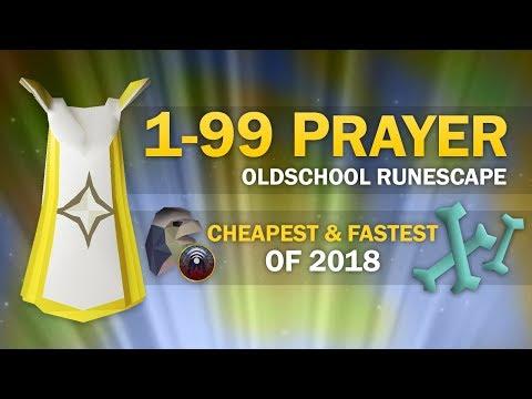 [OSRS] Ultimate 1-99 Prayer Guide (All Cheapest & Fastest Methods)