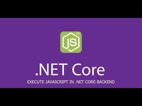 Execute javascript code from ASP.NET Core back-end using NodeServices