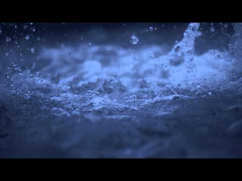 Slow Splashing Water - HD Background Loop
