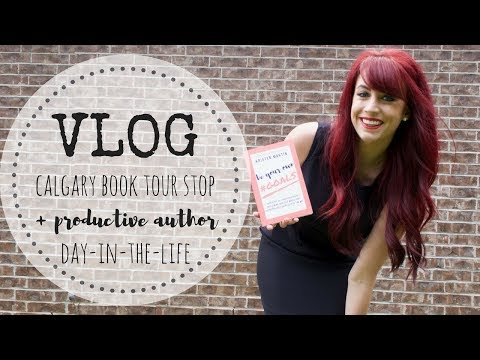 VLOG | Calgary Book Tour Stop Reveal | Breakin' Out The Paints