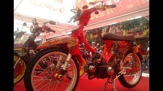 Honda C70 Modif Harian Racing Look Airbrush Kontes
