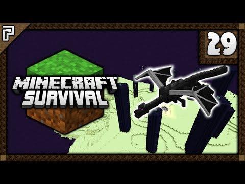 💎 Ender Dragon Battle! Enchanting Master! | Let's Play Minecraft Survival 1.12