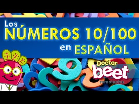 Learn Spanish Numbers 10-100 | Easy Counting Lessons Serie | Language Vocabulary | Aprender numeros