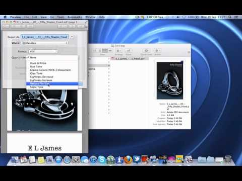 How to reduce PDF file size on Mac