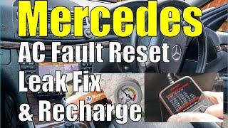 How to fix a 2000-2006 S500 Mercedes W220 AC Blower - PakVim