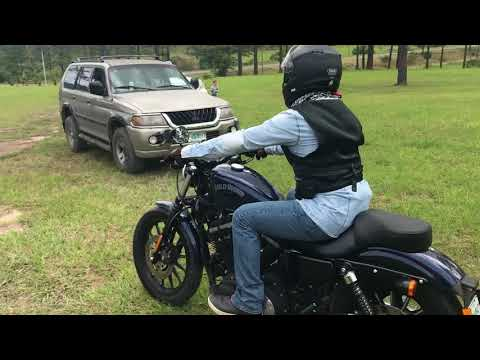 My buddy's Harley Davidson