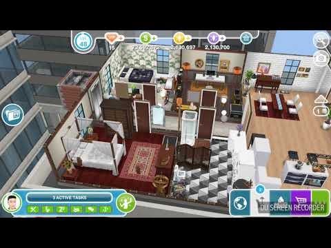 The Sims Freeplay - Change Walpaper - Weekly Task