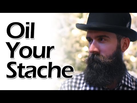 How to Oil Your Mustache