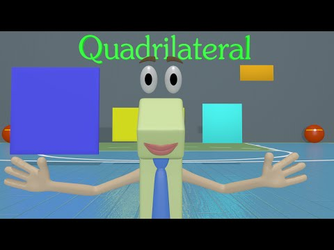Learning Shapes 2nd Grade - Kids Learn Shapes in this Fun Math Video