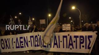 Cyprus: Protesters denounce terms of UN land settlement negotiations