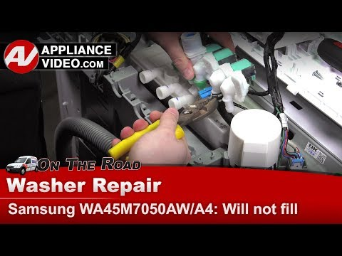Samsung Washer - Water Inlet Valve issues - Diagnostic & Repai