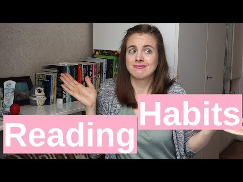 Reading Habits I Can't Get Into