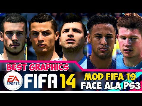 Download Fifa 14 Mod Fifa 19 Mobile Offline New Update Faces Grass