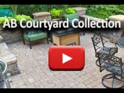 Patio Seating Wall Product Description - AB Courtyard