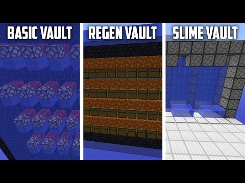 Top 3 Strongest Chest Vaults - Creeper Egg Unraidable