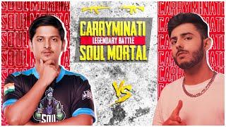 MortaL vs CarryMinati   Pubg Mobile