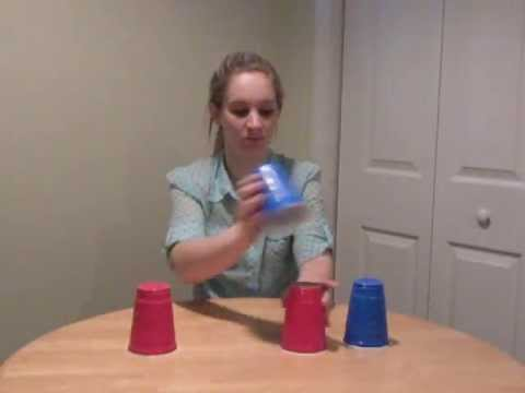 Cup song with 4 cups tutorial!