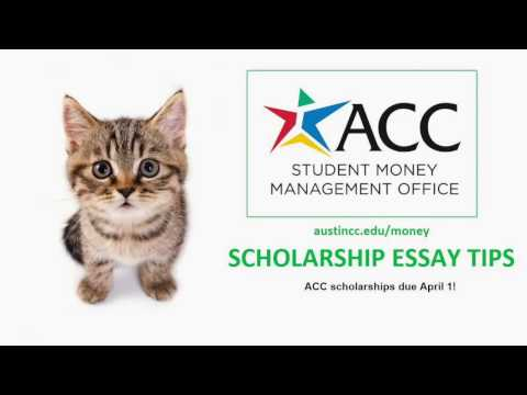 Quick Tips for Writing Scholarship Essays