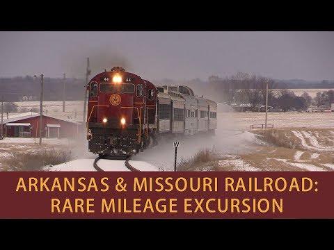 Arkansas & Missouri Railroad: Rare Mileage Excursion