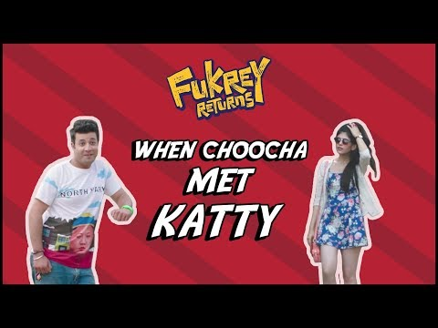 When Choocha Met Katty | Dialogue Promo | Fukrey Returns | Varun Sharma