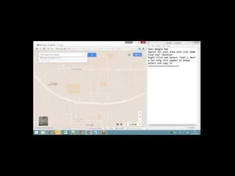 How to know your location lat long in Google Map