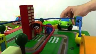 Carros para niños - Greeny y banco - Carros de Juguete