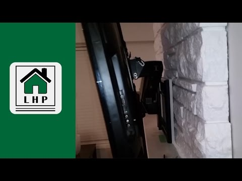 Installing a TV Wall Mount on a Stone Fireplace - LHP