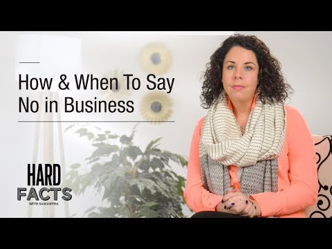 How & When to Say NO in Business