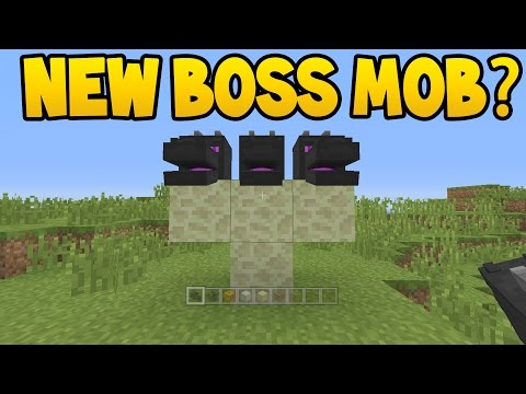 NEW BOSS MOB ADDED TO MINECRAFT ?