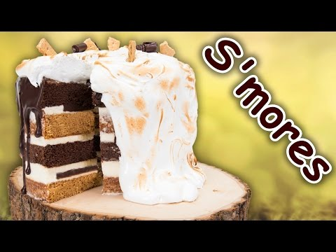 How to Make a S'mores Cake from Cookies Cupcakes and Cardio