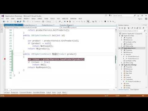 Part 3: ASP NET Web API - API Testing and Debugging with Fiddler
